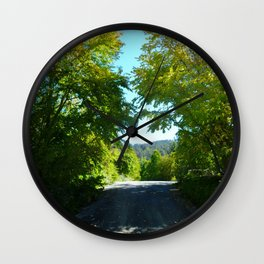 A Lighted Path Wall Clock