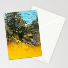 Colors of Summer in Bloom by the Ocean Stationery Cards