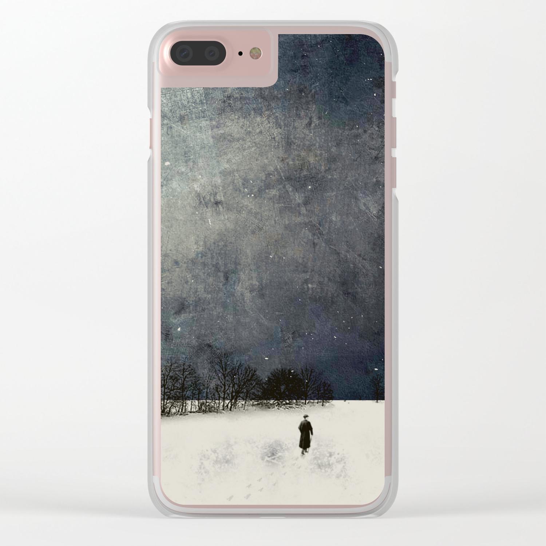 Winter Walk iphone case