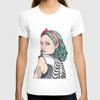 french T-shirts featuring GIRL by Laura O'Connor