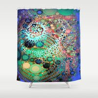 jellyfish Shower Curtains featuring Jellyfish by AlyZen Moonshadow