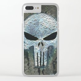 Punisher Clear iPhone Case