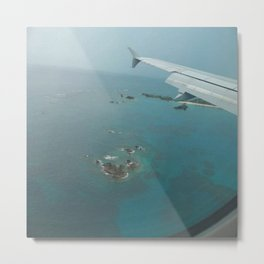 Bermuda From the Sky Metal Print