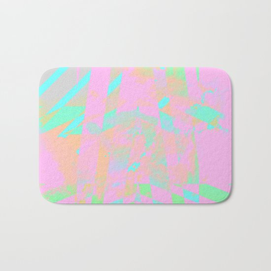 Clouds Mingle with Lines 5 Bath Mat