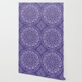 Great Purple Mandala Wallpaper