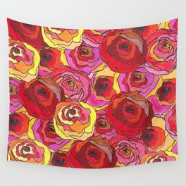 outcast of roses Wall Tapestry