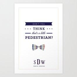Sean W. Donovan Quote Art Print