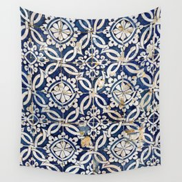 Portuguese glazed tiles Wall Tapestry