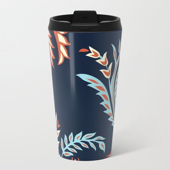 Flora Metal Travel Mug