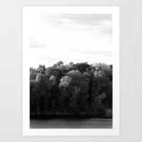 Light vs. Dark  Art Print
