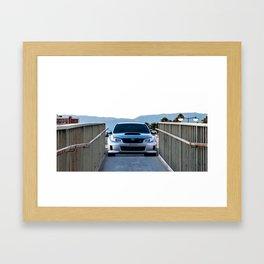 2012 STI Framed Art Print