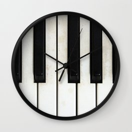 Lost melodies Wall Clock