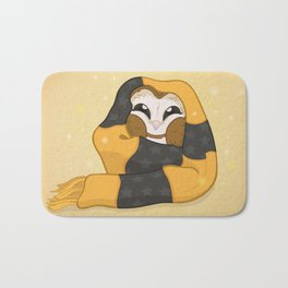 Cozy Barn Owl Bath Mat