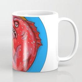 Leopard Coral Grouper Beer Mandala Coffee Mug
