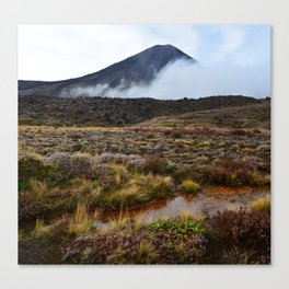 Tongariro Alpine Crossing, New Zealand Canvas Print