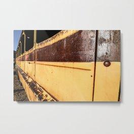 Bus Ride Metal Print