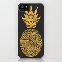 Bullion Rays Pineapple iPhone Case