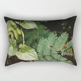 Dark Botanical 01 | Travel Photography | Bali Series Rectangular Pillow
