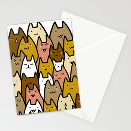 A cat lady's soul (normal) Stationery Cards
