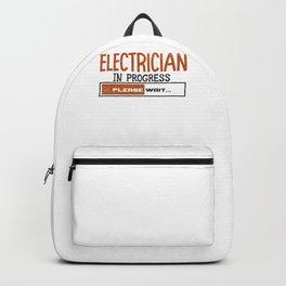Electrician Apprentice Loading Journeyman Backpack