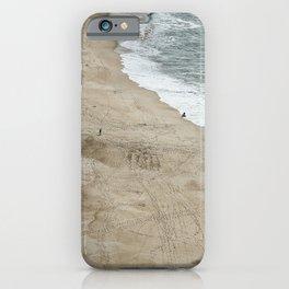 ocean beach sky view iPhone Case