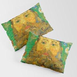 Vincent van Gogh - Portrait of Postman Pillow Sham