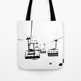 Winter Fog Tote Bag