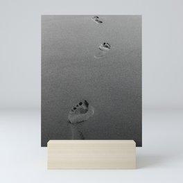 Step By Step - BW photo Mini Art Print