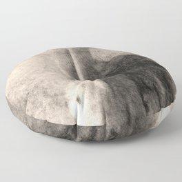 Nude Art Woman Floor Pillow