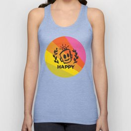 International Day of HAPPINESS Unisex Tank Top