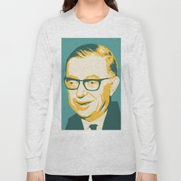 Jean-Paul Sartre Long Sleeve T-shirt