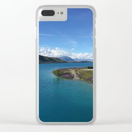 Lake Tekapo   New Zealand    Landscape Photography Clear iPhone Case