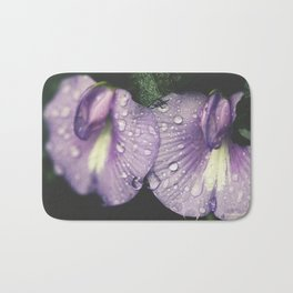 Nostalgic Purple Bath Mat