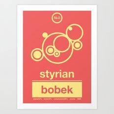 styrian bobek single hop Art Print