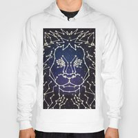 constellation Hoodies featuring Lion Constellation by Domz Agsaway ( dragonhands )