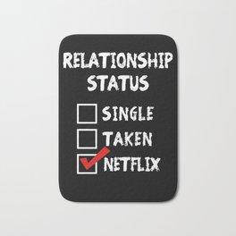 Relationship Status Netflix Bath Mat