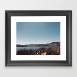 Chilean Roadtrip Framed Art Print
