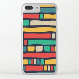 Color tape of life Clear iPhone Case