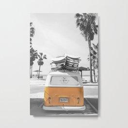 Surf Combi Venice Metal Print