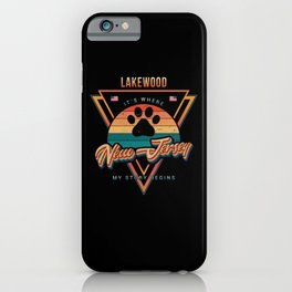 Lakewood New Jersey iPhone Case