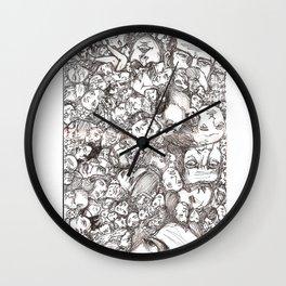 People-B Wall Clock