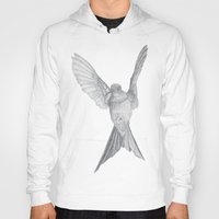 hummingbird Hoodies featuring Hummingbird  by Calcifer