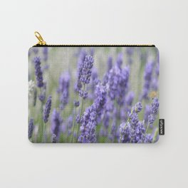Lavender in field Carry-All Pouch