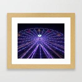 Bright Lights Framed Art Print