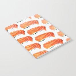 Sushi Pattern Notebook