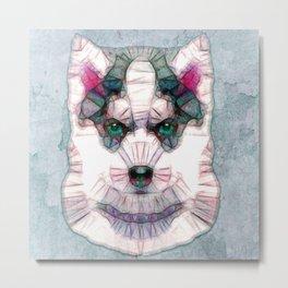 abstract husky puppy Metal Print