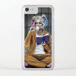 Harley Quinn 2 Clear iPhone Case