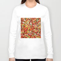 candy Long Sleeve T-shirts featuring candy by bugo