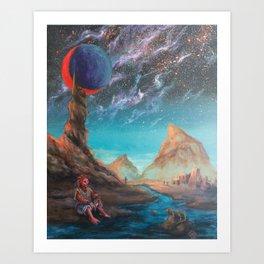 Superlative Mirror Art Print