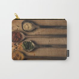 Spoons filled with spices Carry-All Pouch